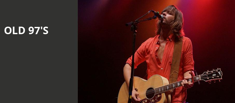 Old 97s, The Fillmore, San Francisco