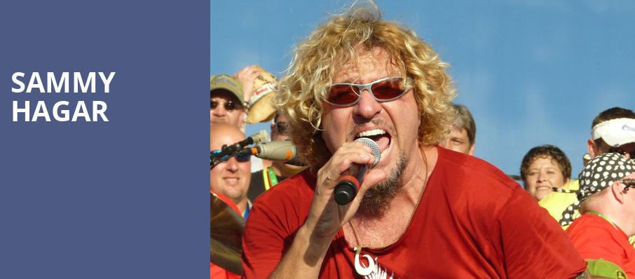 Sammy Hagar, Sleep Train Pavillion, San Francisco