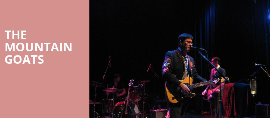 The Mountain Goats, The Fillmore, San Francisco
