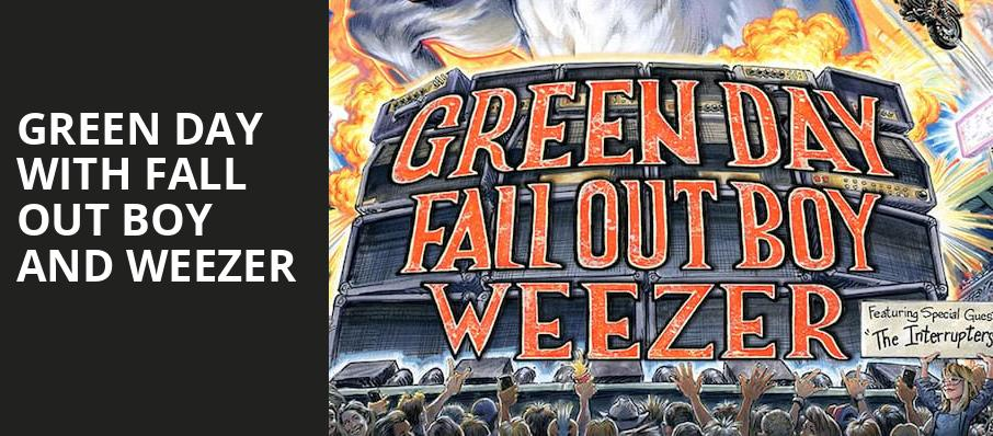 Green Day with Fall Out Boy and Weezer, Lot A ATT Park, San Francisco