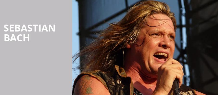 Sebastian Bach, Slims, San Francisco