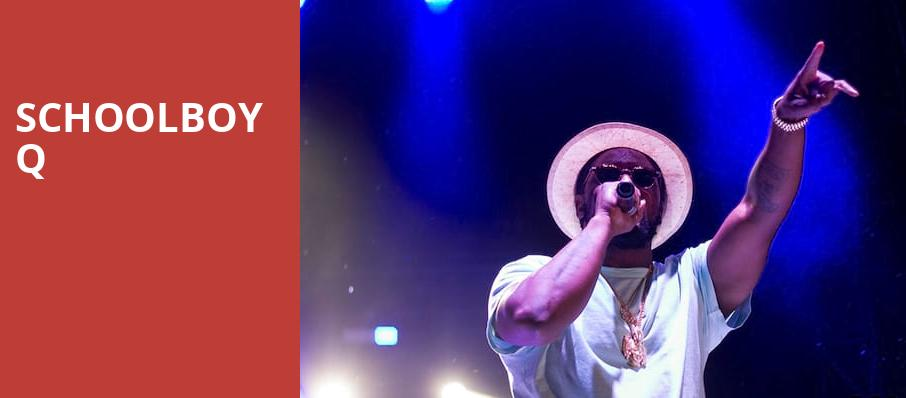 Schoolboy Q, Bill Graham Civic Auditorium, San Francisco