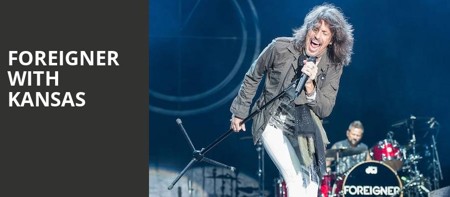 Foreigner with Kansas, Shoreline Amphitheatre, San Francisco