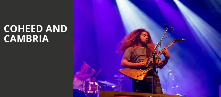 Coheed and Cambria, Fox Theatre Oakland, San Francisco