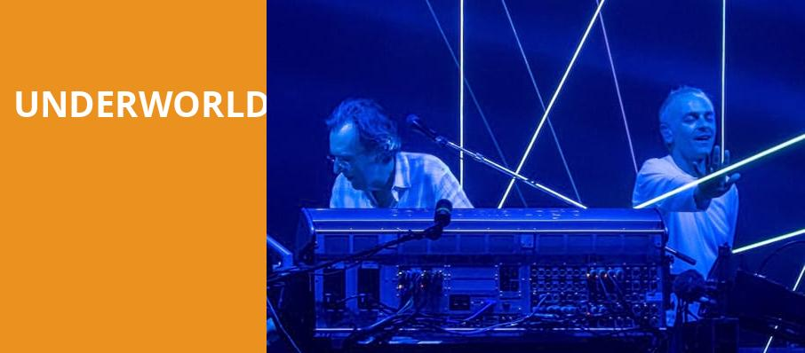 Underworld, The Warfield, San Francisco