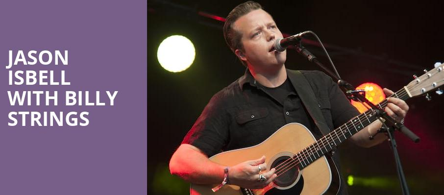 Jason Isbell with Billy Strings, The Warfield, San Francisco