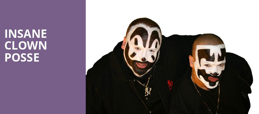 Insane Clown Posse, The Catalyst, San Francisco