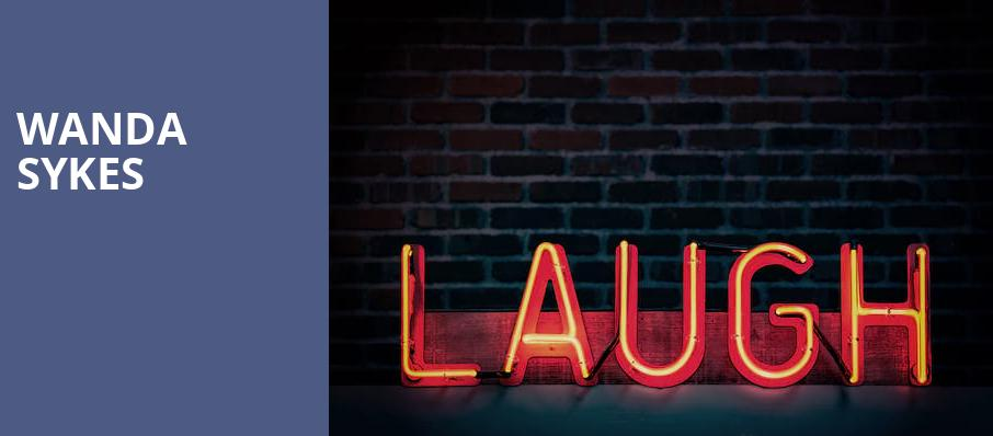Wanda Sykes, Nob Hill Masonic Center, San Francisco