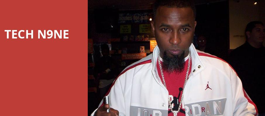 Tech N9ne, The Catalyst, San Francisco