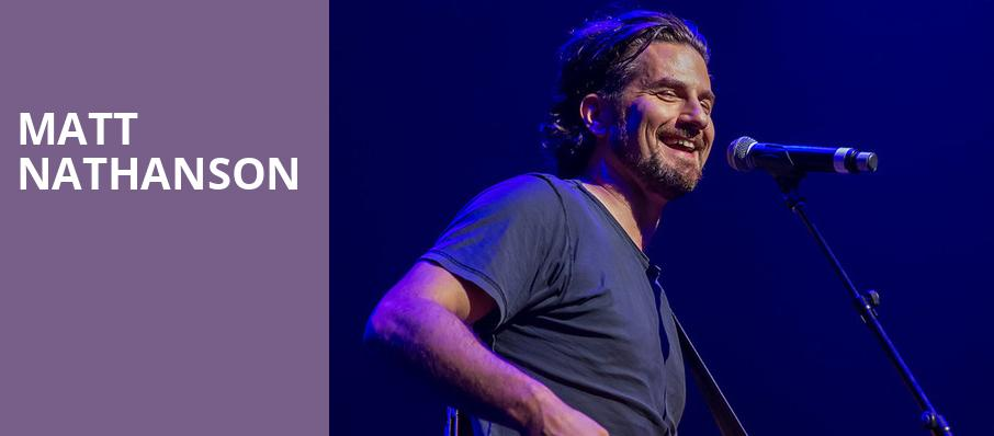 Matt Nathanson, Great American Music Hall, San Francisco