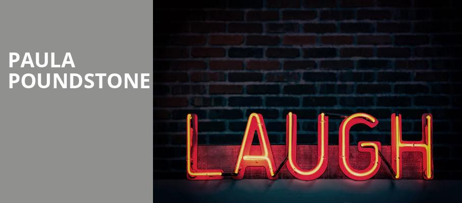 Paula Poundstone, Sydney Goldstein Theater, San Francisco
