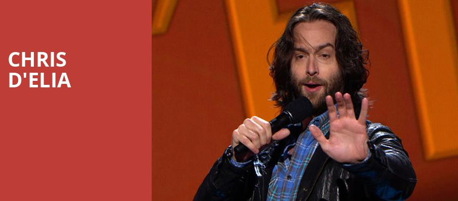 Chris DElia, Nob Hill Masonic Center, San Francisco
