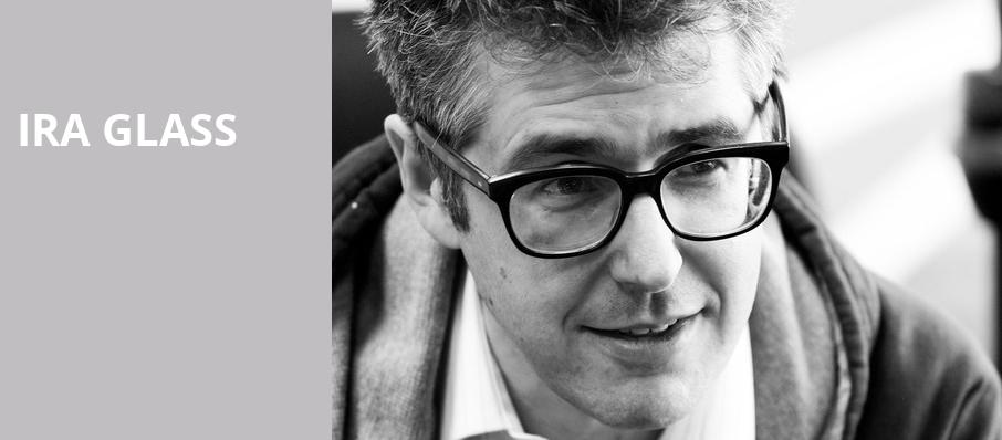 Ira Glass, Ruth Finley Person Theater, San Francisco