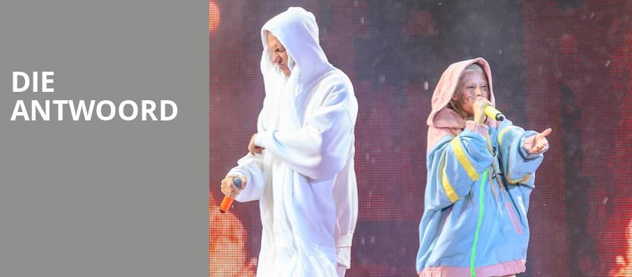 Die Antwoord, Bill Graham Civic Auditorium, San Francisco