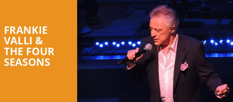 Frankie Valli The Four Seasons, Ruth Finley Person Theater, San Francisco