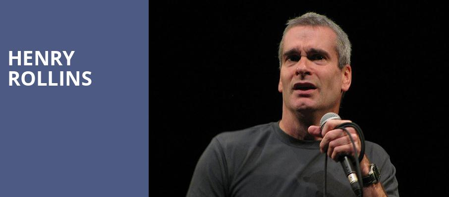 Henry Rollins, Herbst Theater, San Francisco