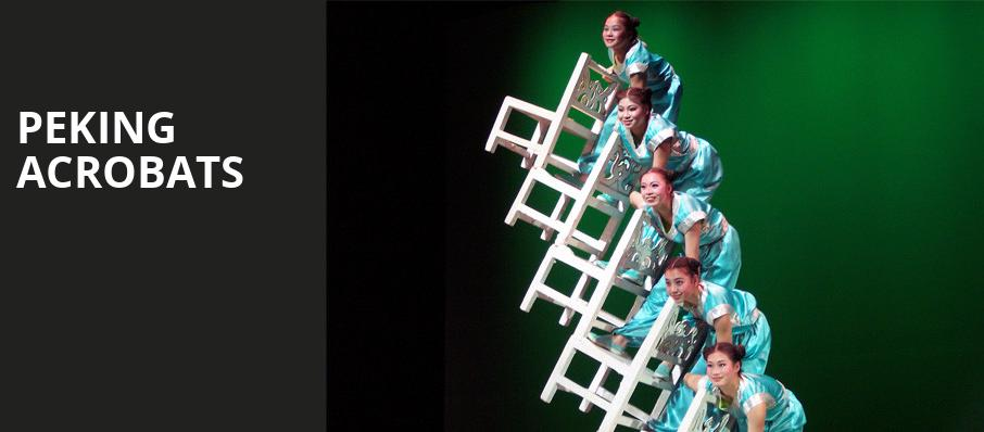 Peking Acrobats, Zellerbach Hall, San Francisco