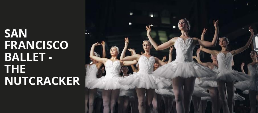 San Francisco Ballet The Nutcracker, War Memorial Opera House, San Francisco