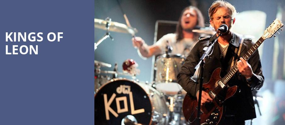 Kings of Leon, Shoreline Amphitheatre, San Francisco