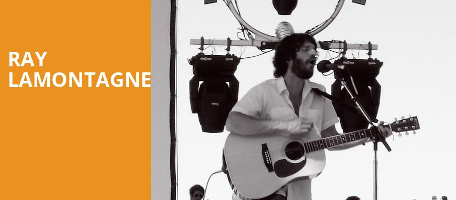 Ray LaMontagne, Fox Theatre Oakland, San Francisco