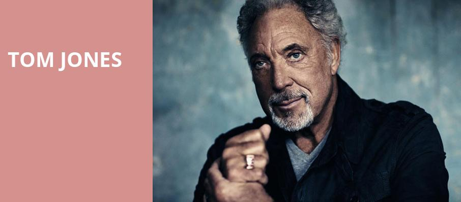 Tom Jones, Nob Hill Masonic Center, San Francisco