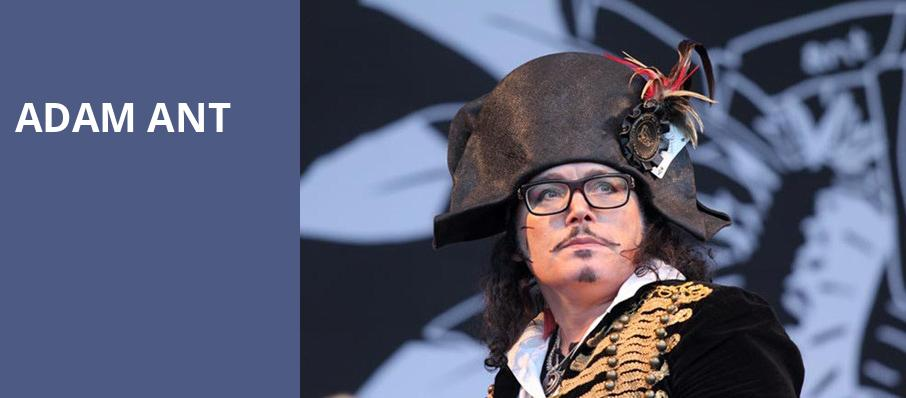 Adam Ant, Fox Theatre Oakland, San Francisco