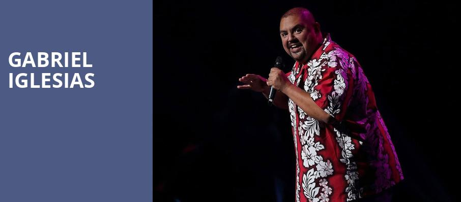 Gabriel Iglesias, Oracle Arena, San Francisco