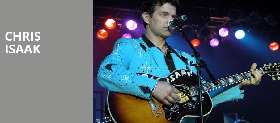 Chris Isaak, Ruth Finley Person Theater, San Francisco