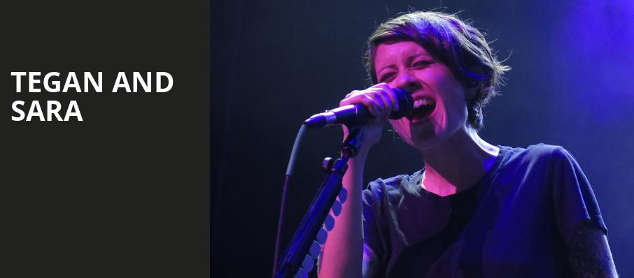 Tegan and Sara, Nob Hill Masonic Center, San Francisco