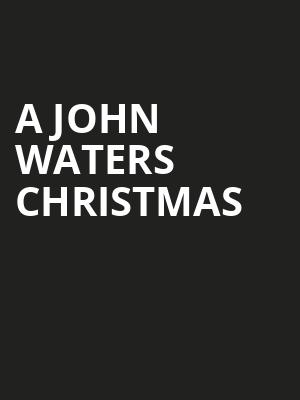 A John Waters Christmas, Great American Music Hall, San Francisco