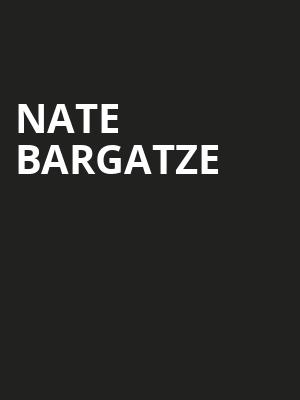 Nate Bargatze, Ruth Finley Person Theater, San Francisco