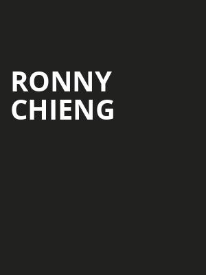 Ronny Chieng, Nob Hill Masonic Center, San Francisco