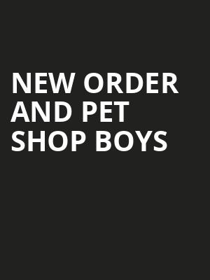 New Order and Pet Shop Boys, Chase Center, San Francisco
