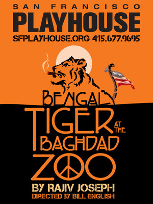 Bengal Tiger at the Baghdad Zoo Poster