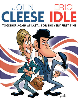 John Cleese & Eric Idle Poster